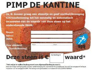 Incasso Donatie 'Pimp De Kantine' Deze Week