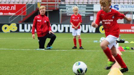 FC Emmen Talentdagen Bij SJS