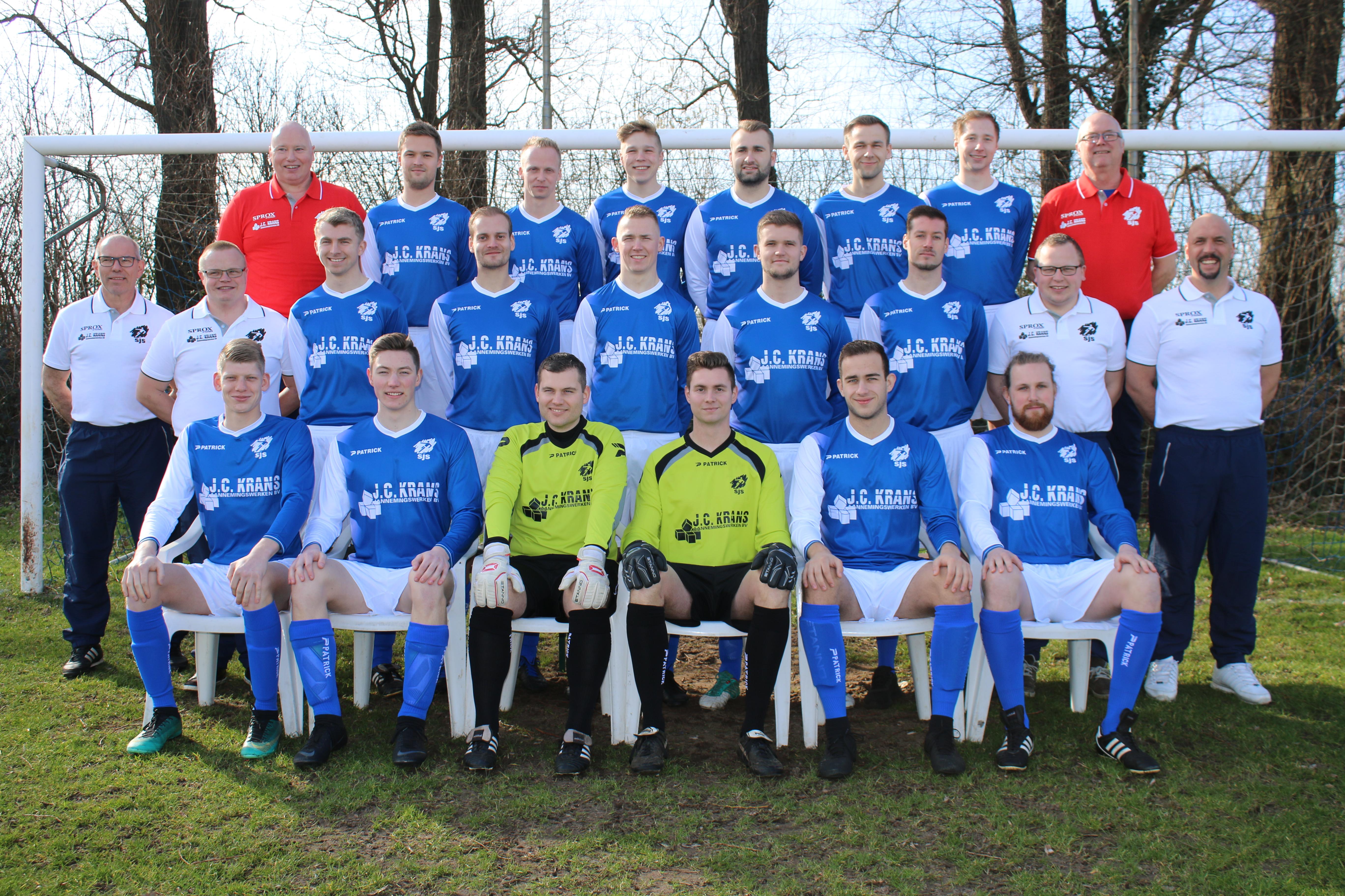 SJS Op Alle Fronten Afgetroefd Door Vitesse '63