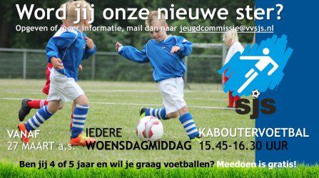 SJS Kaboutervoetbal Begint Binnenkort Weer