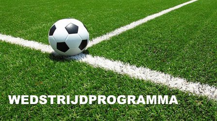 Uitslagen En Programma 21 T/m 25 Mei