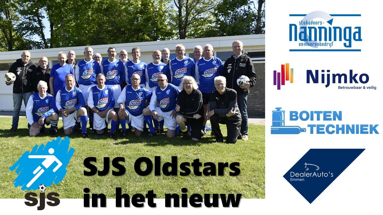 SJS Oldstars Nieuwe Tenues