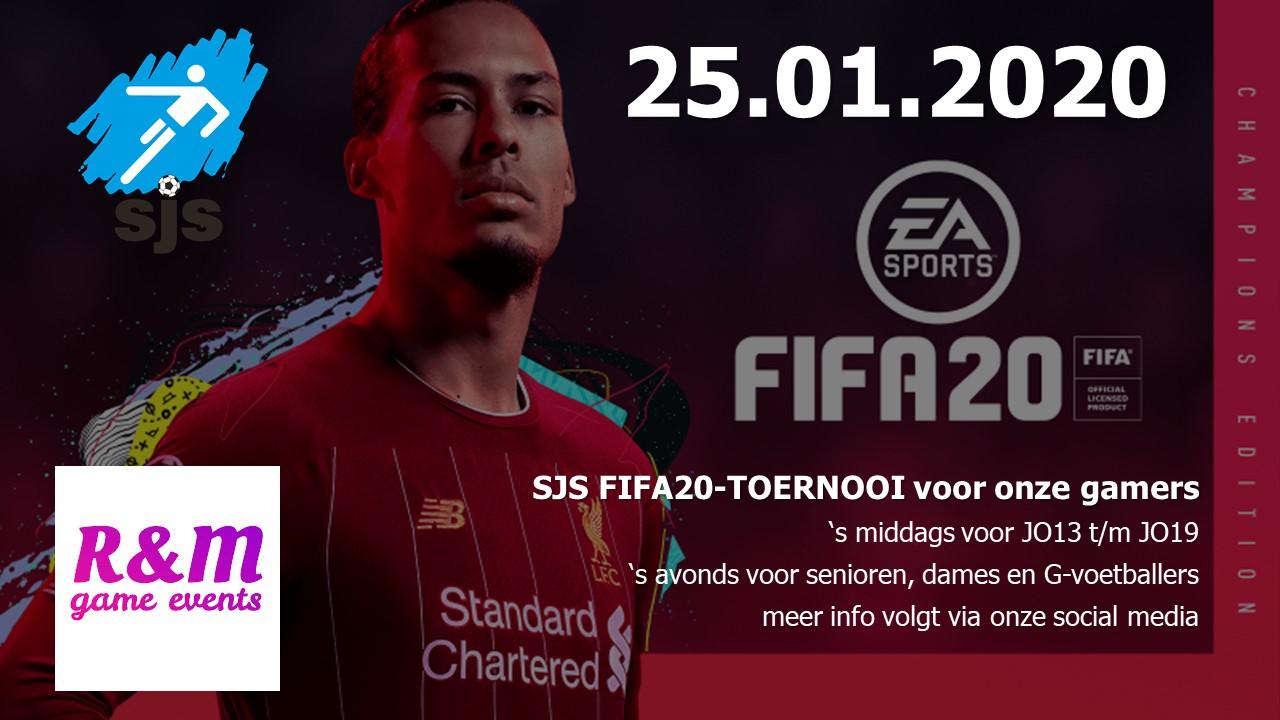25.01.2020 FIFA20-TOERNOOI bij SJS