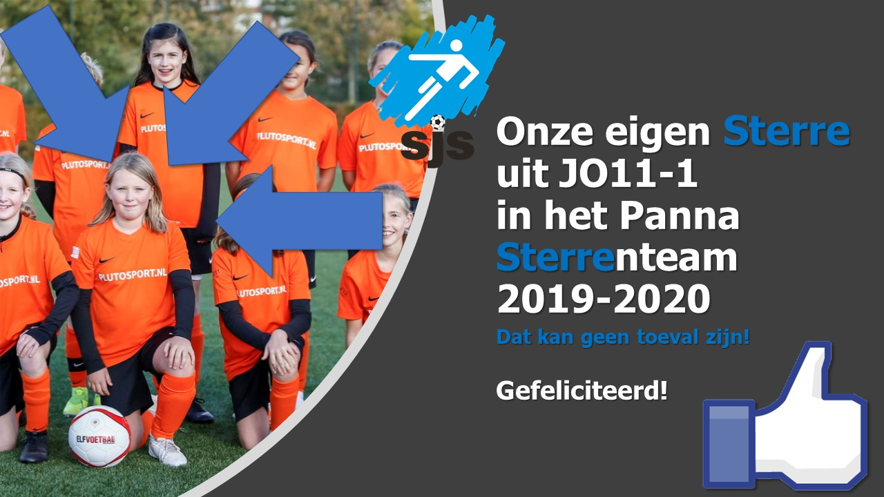 Sterre In Het Panna Sterrenteam 2019-2020!