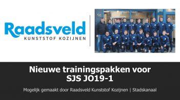 Nieuwe Trainingspakken Voor JO19-1