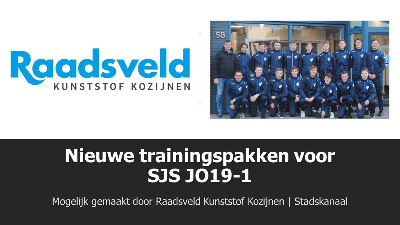 Trainingspakken SJS JO19 1