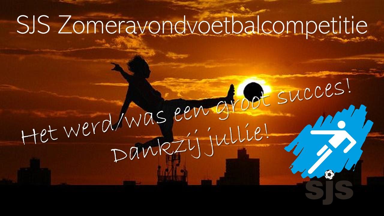 Zomeravondvoetbal Bleek Groot Succes!