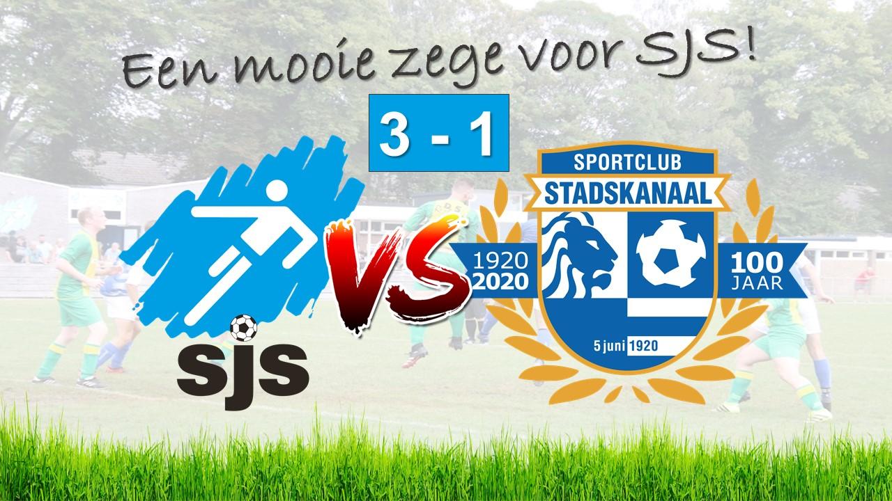 SJS Boekt Knappe Zege Op Buurman SC Stadskanaal