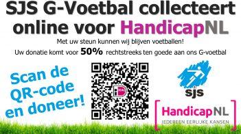 G-voetballers Collecteren Online Voor HandicapNL