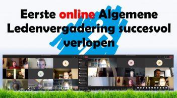 Succesvolle Online Versie ALV 2020!