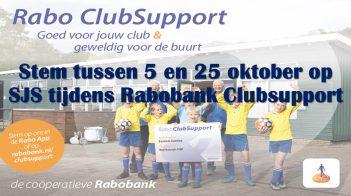 Stem Op Ons Tijdens Rabobank Clubsupport 2020