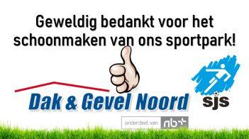 Dak En Gevel Noord, BEDANKT!
