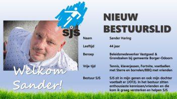 Nieuw Bestuurslid: Sander Haring