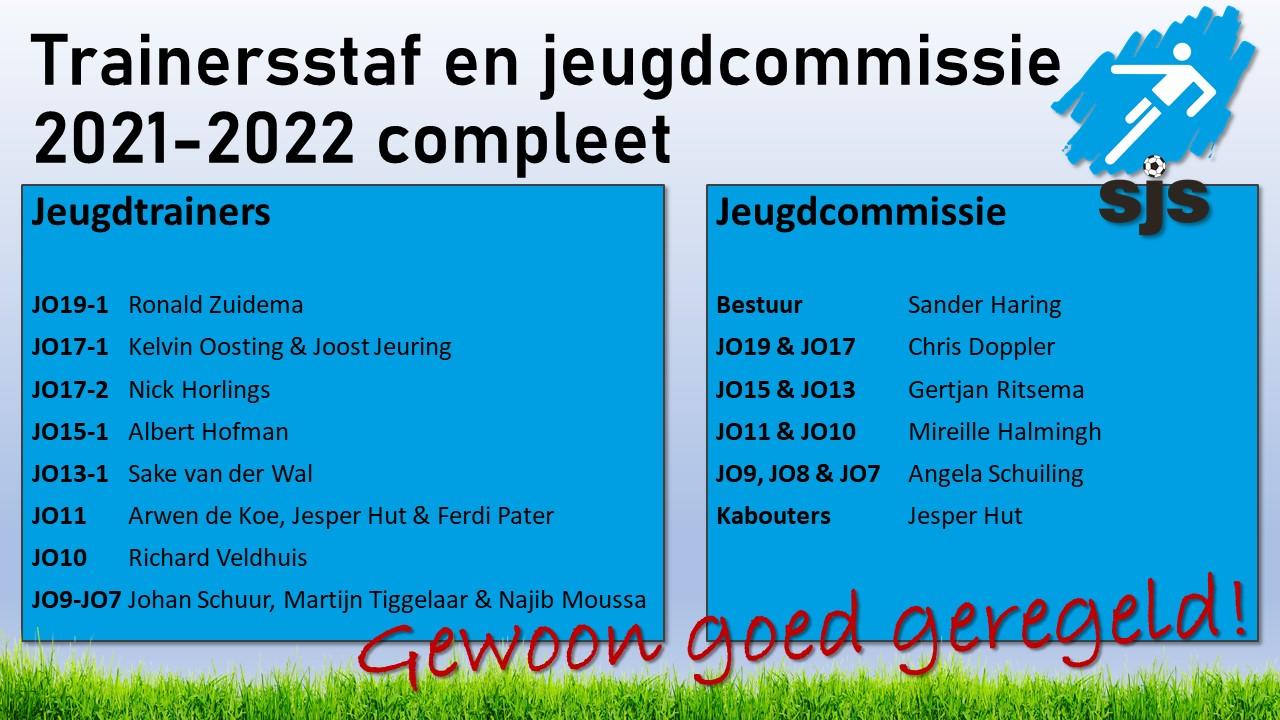 Trainersstaf En JC 2021 2022